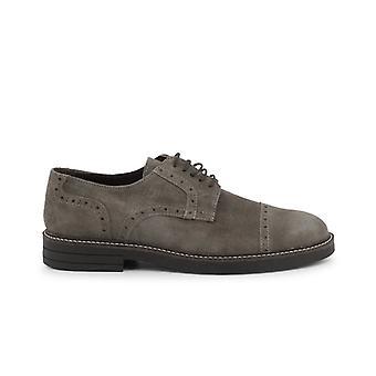 Madrid 607 camoscio men's suede laced shoes