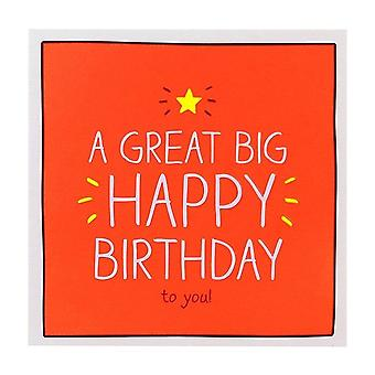 Pigment Happy Jackson A Great Big Birthday Card