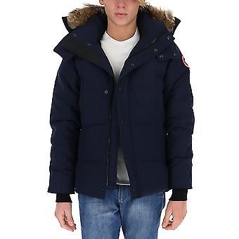 Canada Goose 3808m63 Men's Blue Nylon Down Jacket