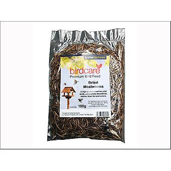 Home Birdcare Dried Mealworms 100g