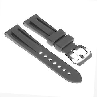 Strapsco silicone-watch-strap-with-brushed-stainless-steel-pre-v-buckle