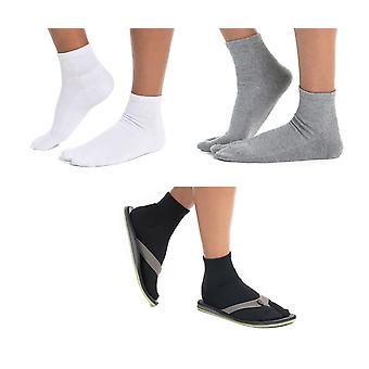 Flip-flop Thicker Ankle Socks