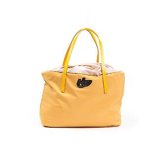 BYBLOS Rantoo Yellow Fabric Handbag