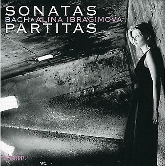 J.S. Bach - Bach: Sonatas & Partitas for Solo Violin [CD] USA import
