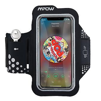 Mpow running armband for iphone x/8/7/6s up to 5.1'' armband with key and headphone slots