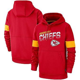 Kansas City Chiefs Performance Pullover Hoodie Moletom WY189