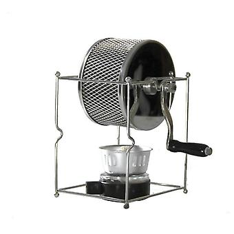 Stainless Steel Coffee Roaster, Manual Hand-operated, Bean Baking Maker
