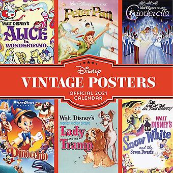 Otter House Square Wall Calendar 2021 - Disney Vintage Posters