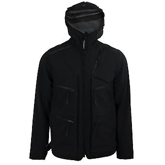 C.p. company men's black utility jacket