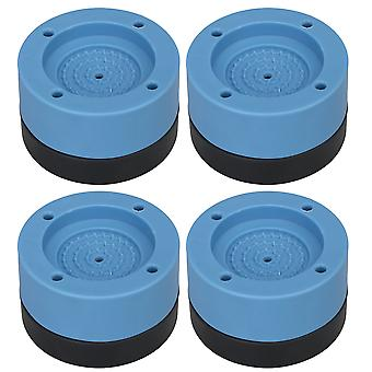 4x Anti Vibration Mat Raise 3.5cm Non-slip Pad for Washer and Dryer Blue