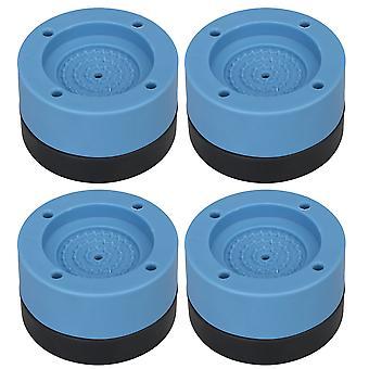 4x tärinänvaimennusmatto Nosta 3,5 cm liukumaton tyyny aluslevylle ja kuivaimen siniselle