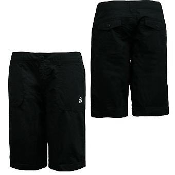 Nike Womens Washed Cargo Capri Pants Cotton Casual Black 433501 010 EE189