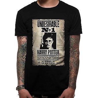 Harry Potter Unisex Adultes Undesirable Design T-shirt