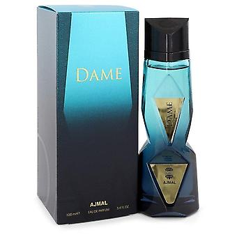 Ajmal Dame Eau De Parfum Spray By Ajmal 3.4 oz Eau De Parfum Spray