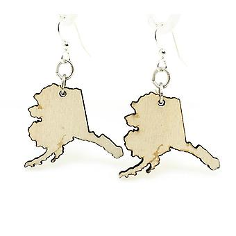 Alaska State Design, Wooden Earrings