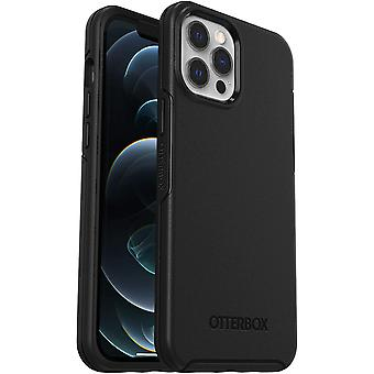 OtterBox Symmetry Series, Sleek Protection for Apple iPhone 12 Pro Max - Black