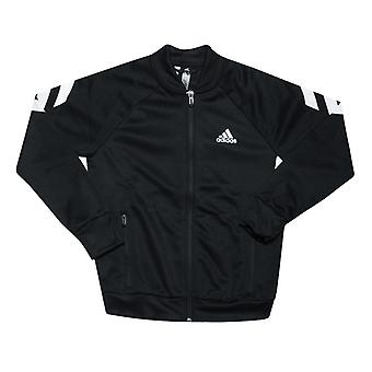 Boy's adidas Junior XFG Tracksuit in Black