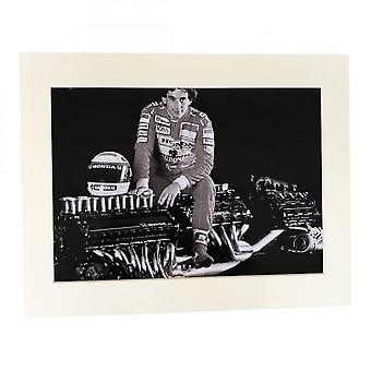 Larrini Senna Sat On Honda Engine A4 Mounted Photo