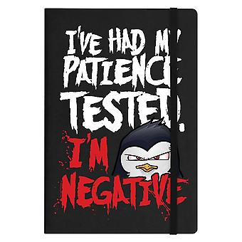 Psycho Penguin Patience A5 Notebook