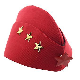 Women Canvas Boat Hat / Army Caps, Autumn & Winter Cap