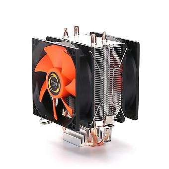 Universal Cooling Cpu Cooler Fan With 3-pin For Intel Quiet Ventilador