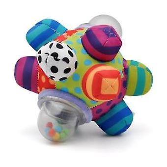 Fun Little Loud Bell Baby Ball Rattles Toy