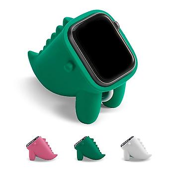 Dinosaurus jalusta Apple Watch haltija Nightstand Keeper Silikoni Kotiin lataustelakka