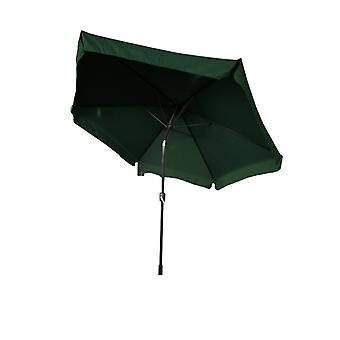 Parasol foldable 300cm with slope function - Green - Garden umbrella