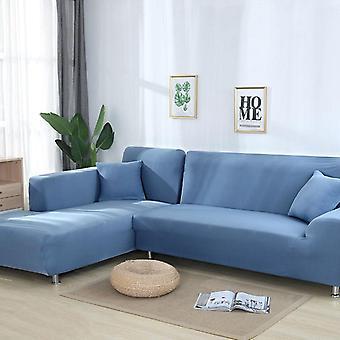 Joustava joustava sohvan kansi, L-tyylinen kotelo