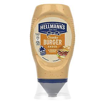 Hellmann's Tabasco Chilli Mayonnaise & Chunky Burger Sauce 2pk of Each, 250ml