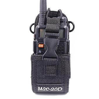 Msc-20d Nylon Multi-function Pouch Bag Holster Walkie Talkie Carry Case