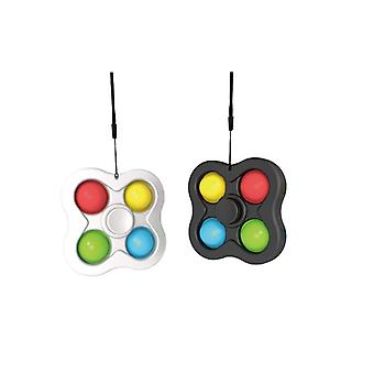 2 pcs Kit Fingertip Spinner Bubble Pop It Toys Fidget Toys Antistress Sensory Fidget Toys Stress Relief With Fidget Hand Toys