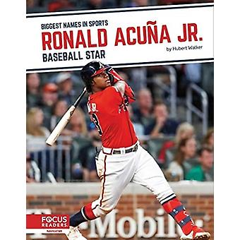 Biggest Names in Sports Ronald Acuna Jnr Baseball Star by Hubert Walker