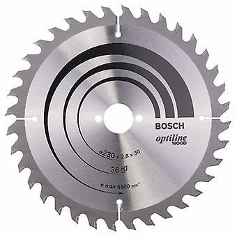 Bosch 2608640628 230 X 2.8 X 30/36 Opti Wood Circular Saw Blade Hand
