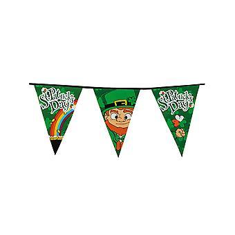 8 m Saint Patrick wimpelkrans