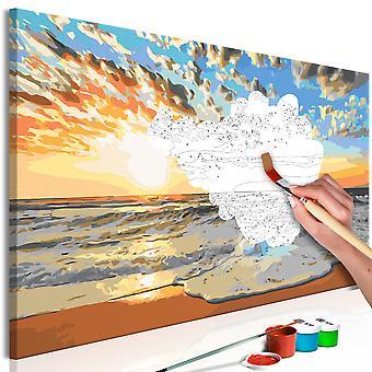 Doe-het-zelf op canvas schilderen - Beautiful Baltic Sea