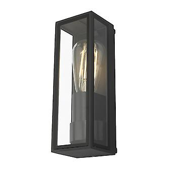 Latarnia Ściana Światło Antracyt IP65, 1x E27