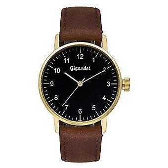 Gigandet Minimalism Analog Women's Watch Quartz Brown Gold G27-002