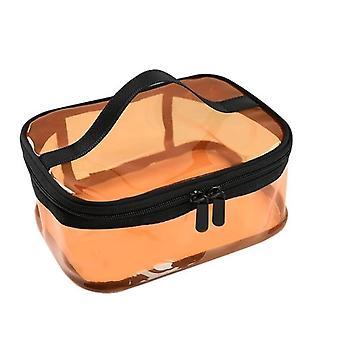ماء شفاف Pvc حمام حقيبة مستحضرات التجميل