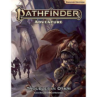 Pathfinder Adventure: Troubles in Otari (P2) af Ron Lundeen, Lyz Liddell, Jason Keeley (Paperback, 2021)