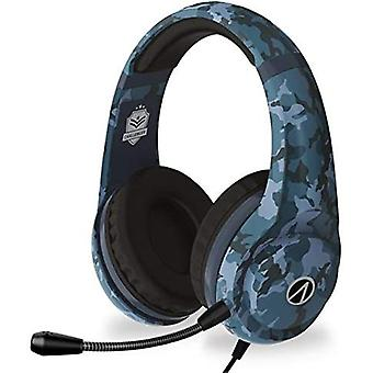 4Gamers Stealth Blue Camo Challenger Headset (PS4, Xbox One, Switch & PC)
