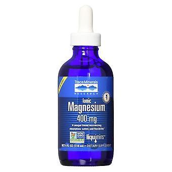 Oligo-éléments Magnésium ionique liquide, 400 mg, 4 Oz
