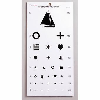 ماكيسون العين اختبار الرسم البياني ماكيسون 20 قدم رياض الأطفال، 5 أكياس