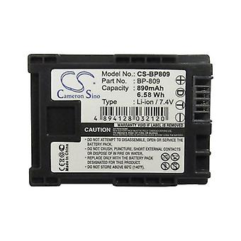 Cameron Sino Bp809 Battery Replacement For Canon Camera