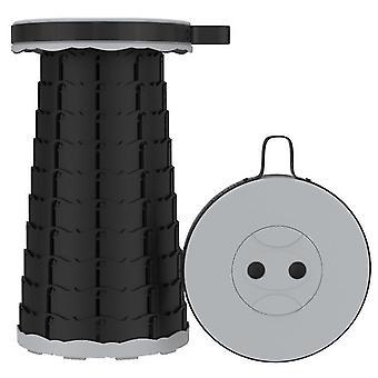 Vancl Outdoor folding telescopic stool£¬portable Adjustable stool for fishing(Gray)