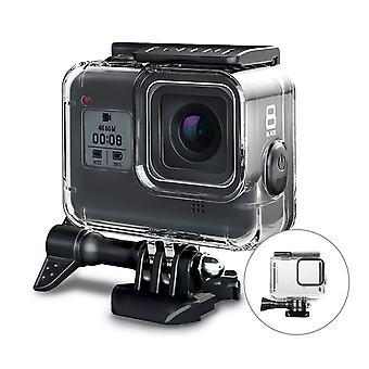 GoPro ήρωας 8 μαύρη προστασία/κοχύλι αδιάβροχο IP68 διαφανές