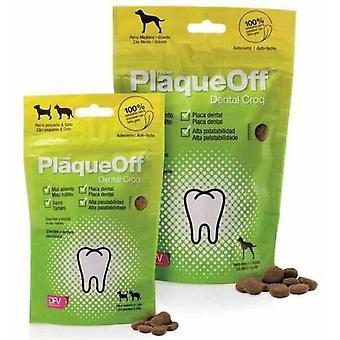 PlaqueOff Dental Croq '150 gr. (Dogs , Treats , Dental Hygiene)