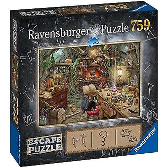 Ravensburger Witch's Kitchen Escape Room Legpuzzel (759 stukjes)