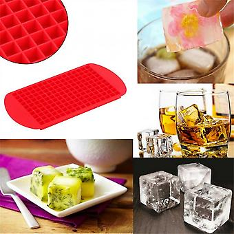 1pc 160 Ice Cubes Frozen Mini Cube Silicone Ice Mold Mould Tray Kitchen Tool