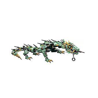 Green Dragon -elokuvahahmot mallin rakennuspalikat